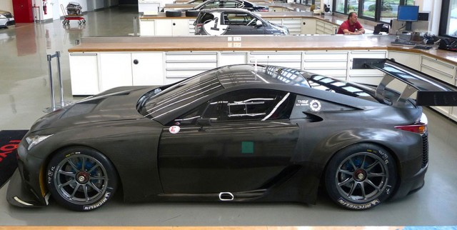 Lexus LFA GTE race car prototype - Image: Racecar Engineering
