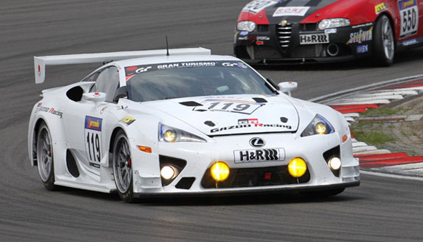 gazoo racing prepares lexus lfa for nurburgring 24 hours assault. Black Bedroom Furniture Sets. Home Design Ideas