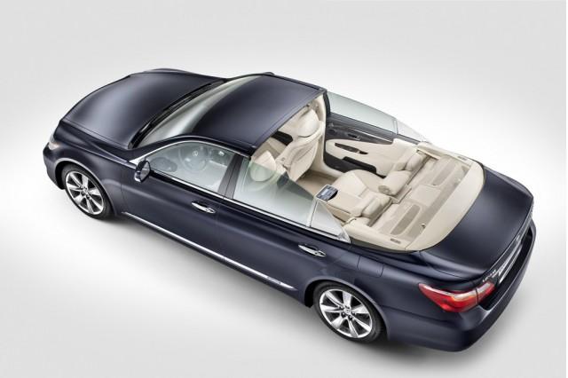 Lexus LS 600h Landaulet for Prince Albert Of Monaco wedding