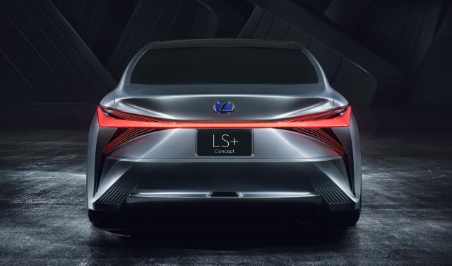 Lexus LS+ concept, 2017 Tokyo Motor Show