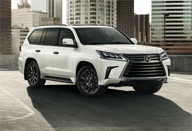 2021 Lexus LX 570 brings back blacked-out Inspiration Series