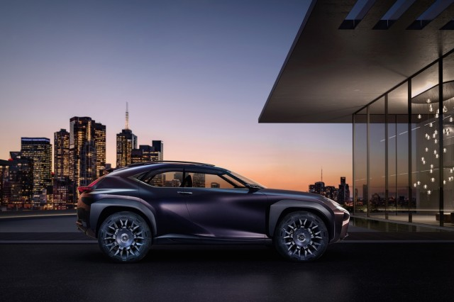 Lexus UX concept, 2016 Paris auto show