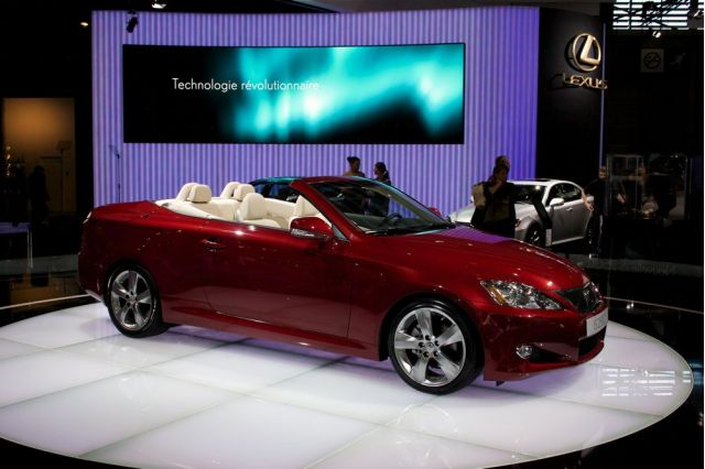 2010 Lexus IS Convertible