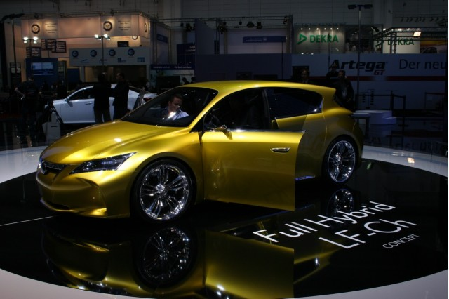 2009 Lexus LF-Ch concept at the 2009 Frankfurt auto show