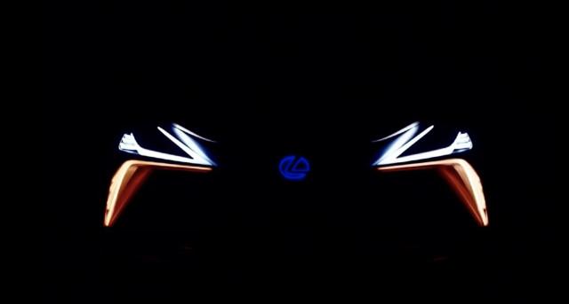 Lexus LF-1 Limitless crossover concept teaser