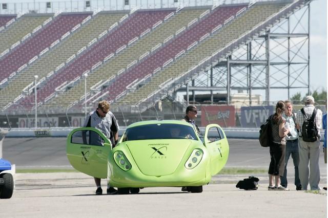 Li-Ion Motors Wave II, Progressive Automotive X-Prize winner.
