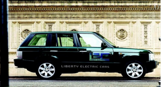 Converted Liberty E Range Electric Rover