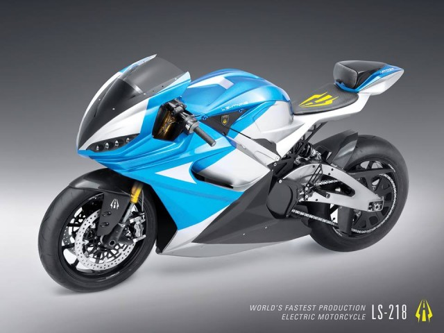 Lightning LS 218 electric motorcycle