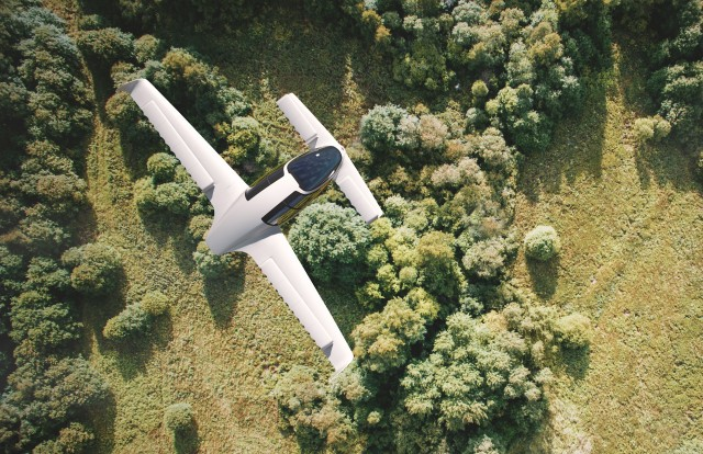 Lilium electric flying taxi