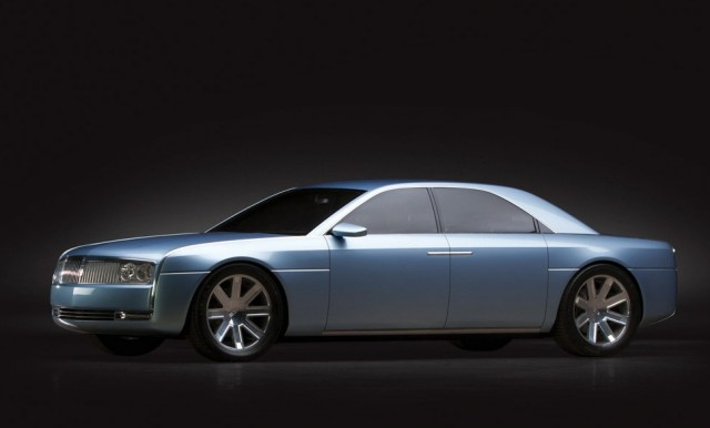 Rm Set To Offer 2002 Lincoln Continental Concept Car