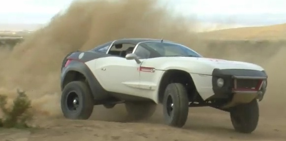 Local Motors' Rally Fighter showing off