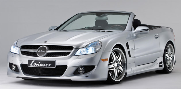 Mercedes-Benz SL-Class tuned by Lorinser