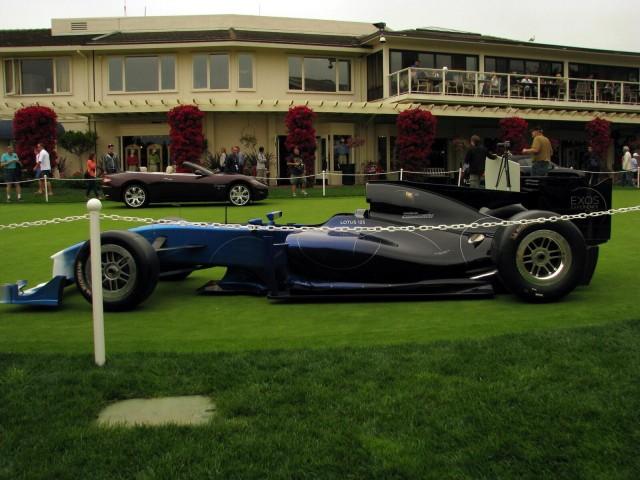 Lotus Exos Type 125 at Pebble Beach