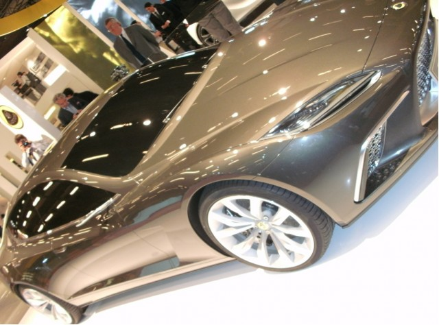 2015 Lotus Eterne live photos