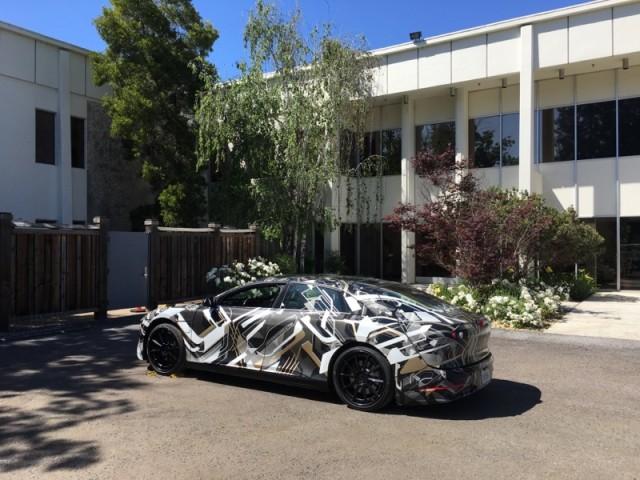 Lucid Air electric luxury sedan prototype [photo: David Noland]