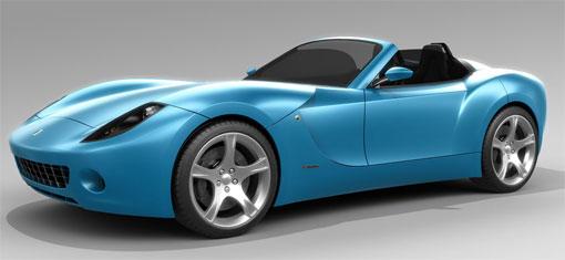 Luso Motors LM GT kit car design study