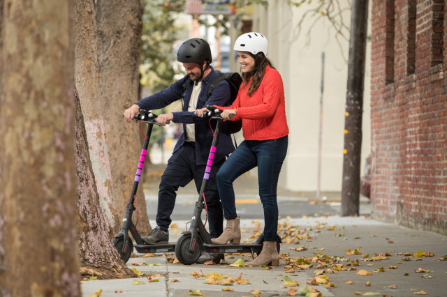 Lyft beats Uber, launches its own scooter service