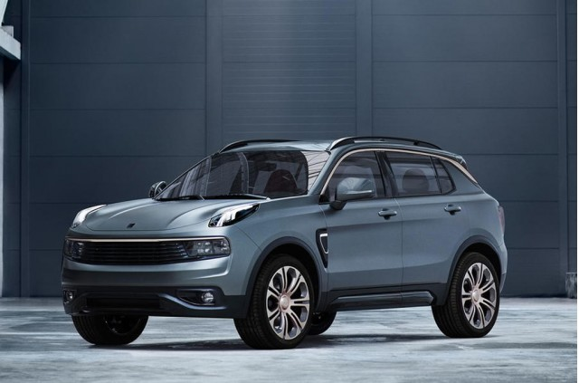Lynk & Co reveals new 02 crossover hatchback and European sales plans