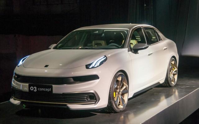 Lynk & Co 03 concept, 2017 Shanghai auto show