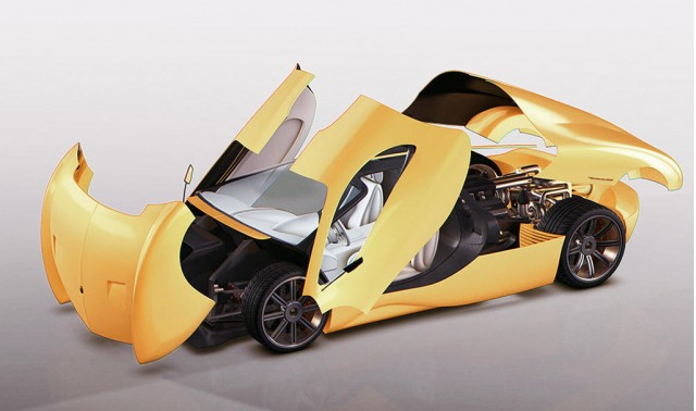 Lyons Motor Car Lm2 Streamliner Concept 2017 New York Auto Show
