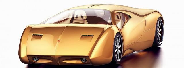 Lyons Motor Car LM2 Streamliner concept, 2015 New York Auto Show