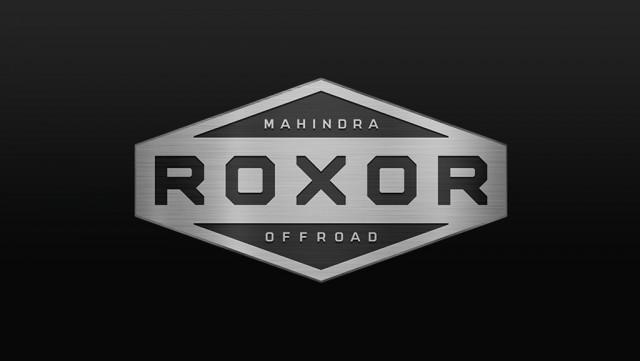 Mahindra Roxor Off-road logo