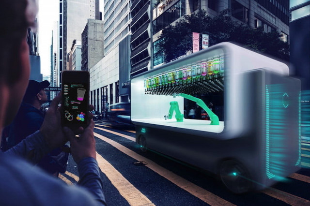 Self-driving bar will gladly pour one out on the go