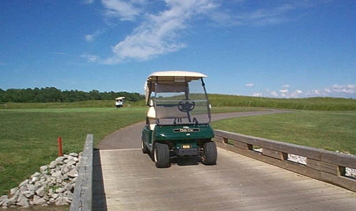 Man charged for DUI on a....golf cart
