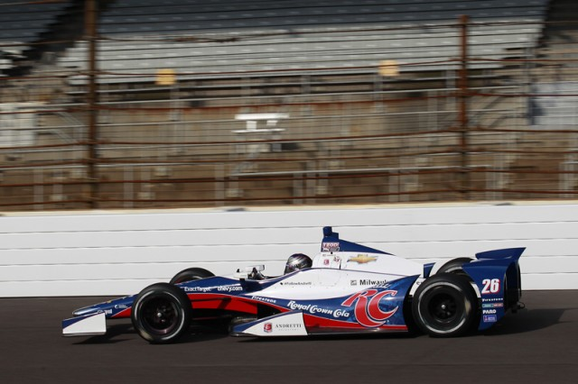 Marco Andretti was quickest in Indy testing - IndyCar/LAT USA