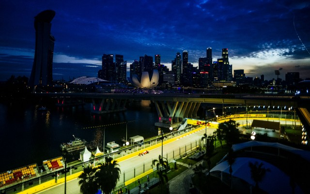 Marina Bay Circuit, home of the Formula 1 Singapore Grand Prix