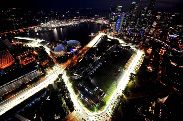 Marina Bay Circuit in Singapore
