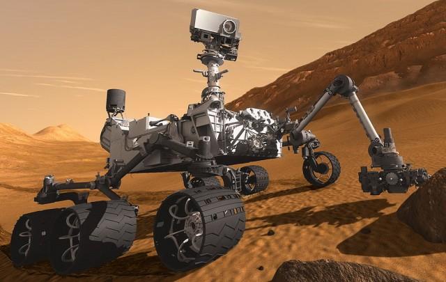 Mars Science Laboratory Curiosity rover (Image: NASA)