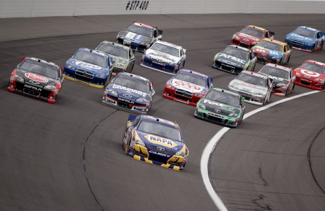 Martin Truex Jr led the most laps and finished second - NASCAR photo
