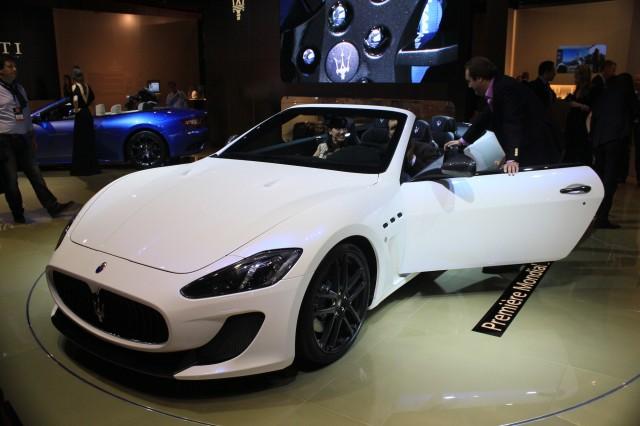 Maserati GranCabrio MC, 2012 Paris Auto Show