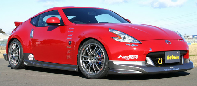 The MCR Nissan 370Z will be on display this weekend at the 2009 Tokyo Auto Salon