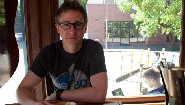 Matt Teske, creator of fictional Chevrolet Jolt EV electric car website [photo: Transport Evolved]