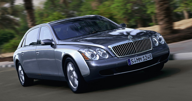 Maybach sales drop 25%, company insists it's immune to global ...