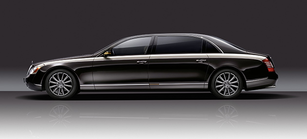 The Maybach 57 and 62 will get the Zeppelin treatment, pushing the cars' luxury status - and pricing - even further