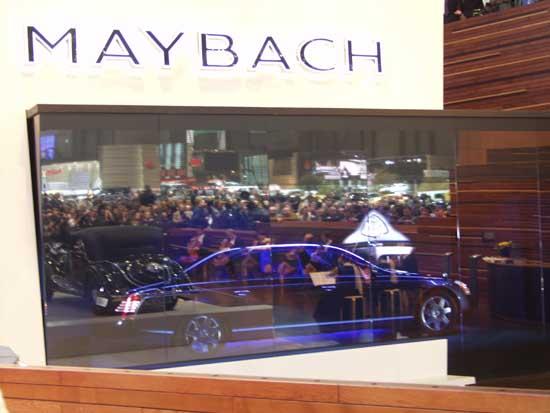 Maybach under glass