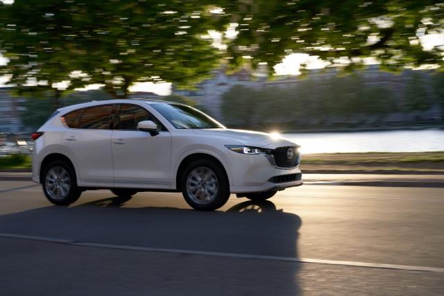 2022 Mazda CX-5 refreshed; AWD standard on all 2022 CX SUVs