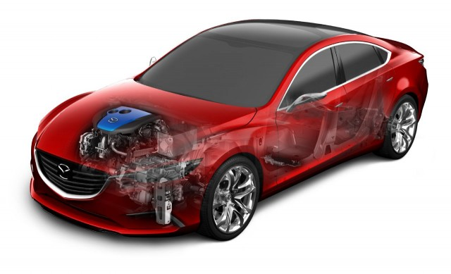 Mazda I Eloop Capacitor Based Regenerative Braking Technology