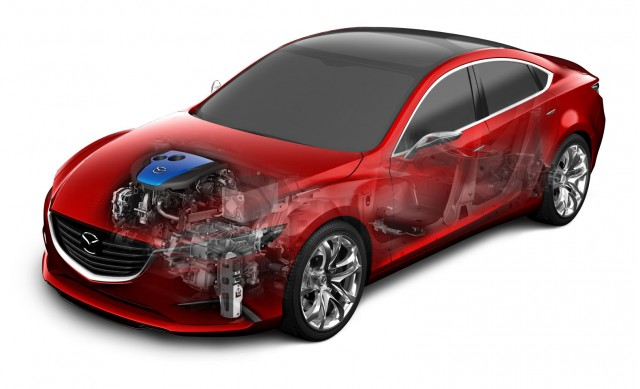 Mazda i-ELOOP regenerative braking system with capacitor storage