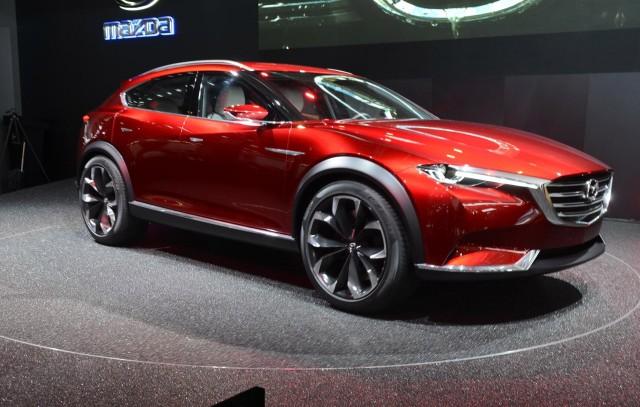 Production Version Of Mazda Koeru Concept Spied