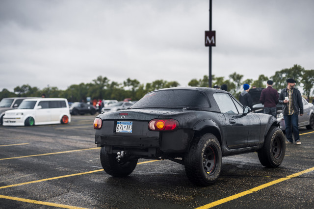 Off-road Mazda Miata