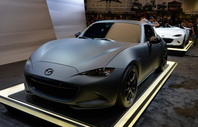 Mazda Miata Parts >> Mazda goes with sexy and sinister for MX-5 concepts at SEMA