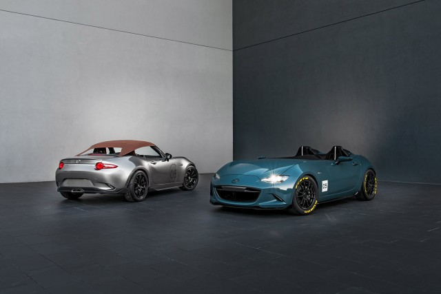 Mazda MX-5 Spyder and MX-5 Speedster concepts, 2015 SEMA show