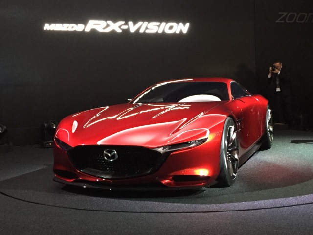 Exceptional Mazda RX Vision Concept, 2015 Tokyo Motor Show