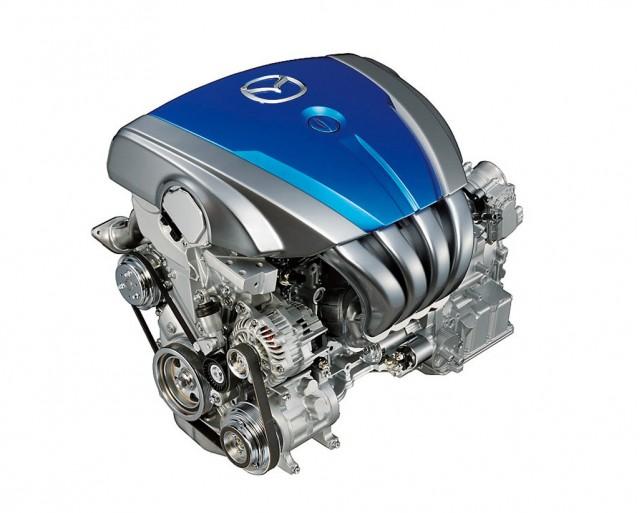 Mazda SKY-G gasoline direct injection engine