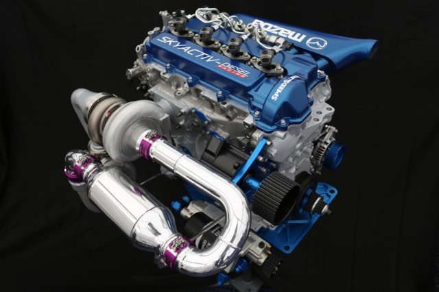 Mazda SKYACTIV-D clean diesel engine - Courtesy Mazda