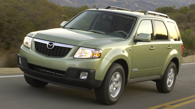 Mazda's Tribute Hybrid used technology borrowed from Ford but its new hybrid powertrains may rely on Toyota technology